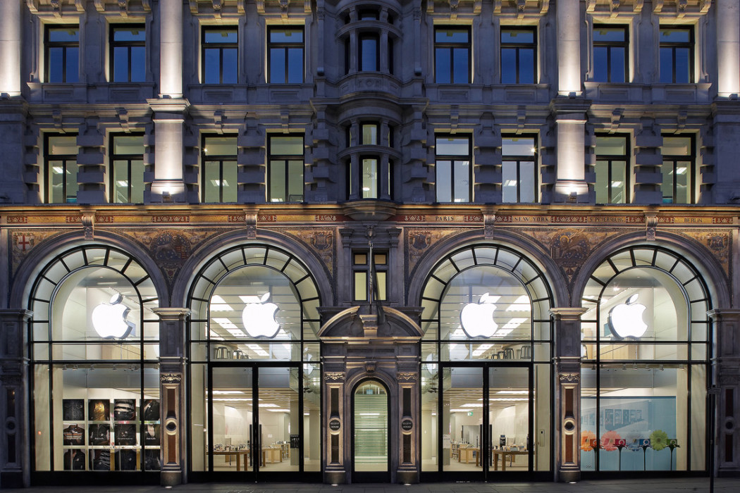 Apple's new store takes over a Beaux Arts bank in New York