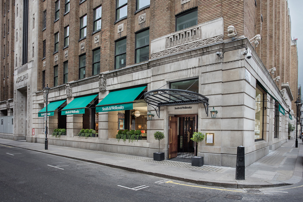 Smith wollensky restaurant opens in london 39 s adelphi for Smith house construction