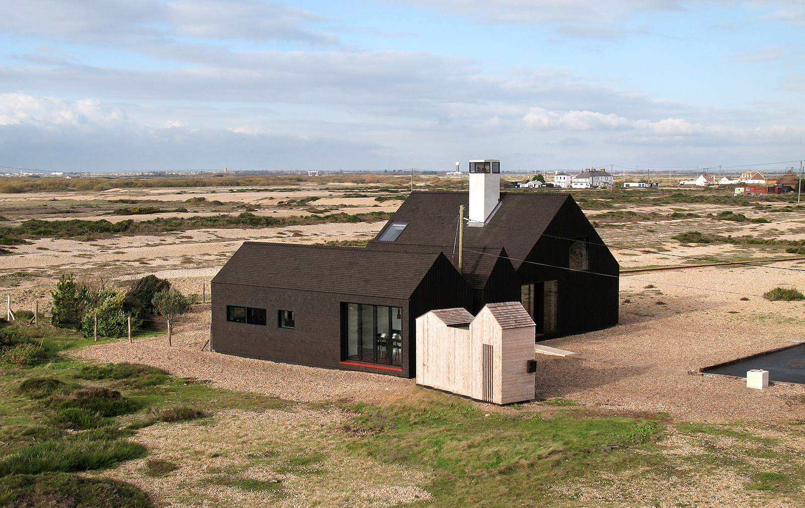 Dungeness britain s only desert is blooming with House architects