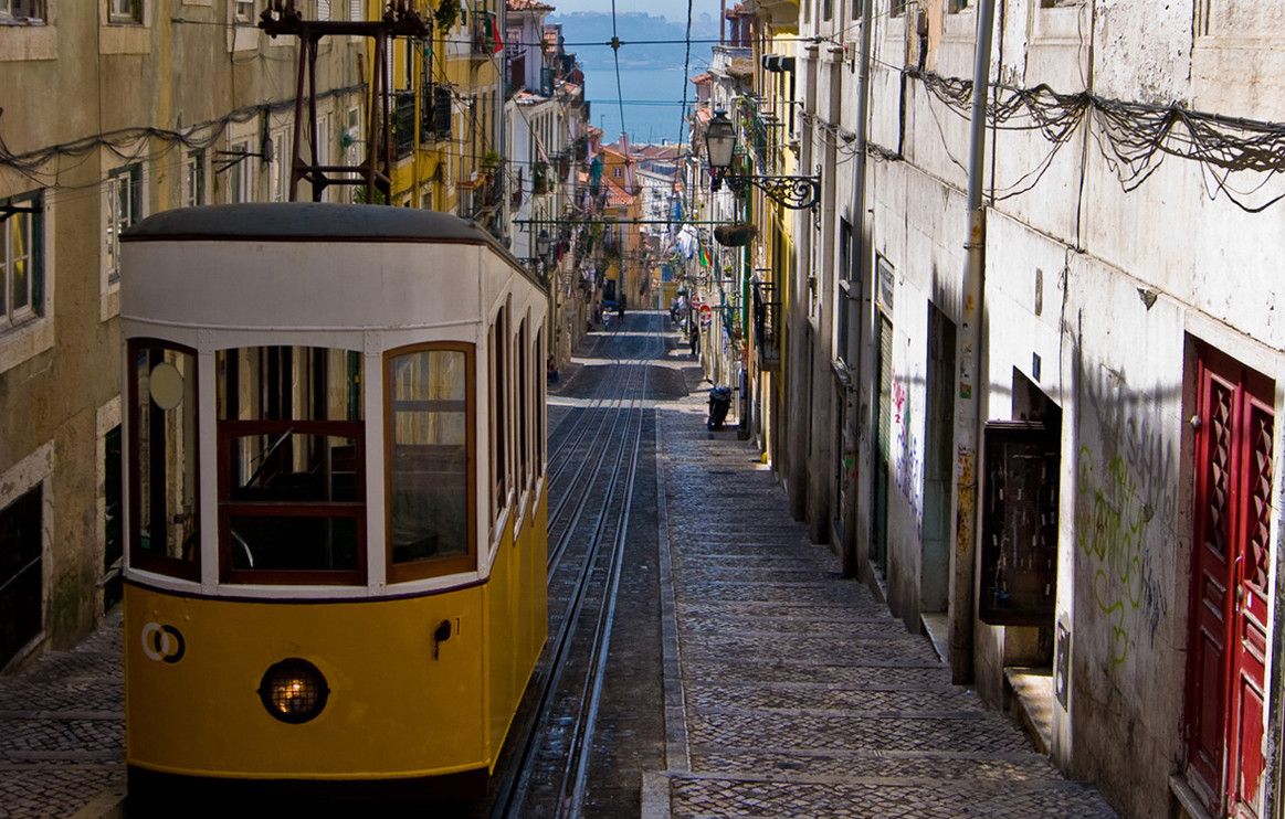 Lisbon's public transport network is both cheap and efficient, covering trams, buses and a metro system. A 24 hour pass costs €5, but some central areas – Alfama, Baixa and Bairro Alto – are pedestrian only.