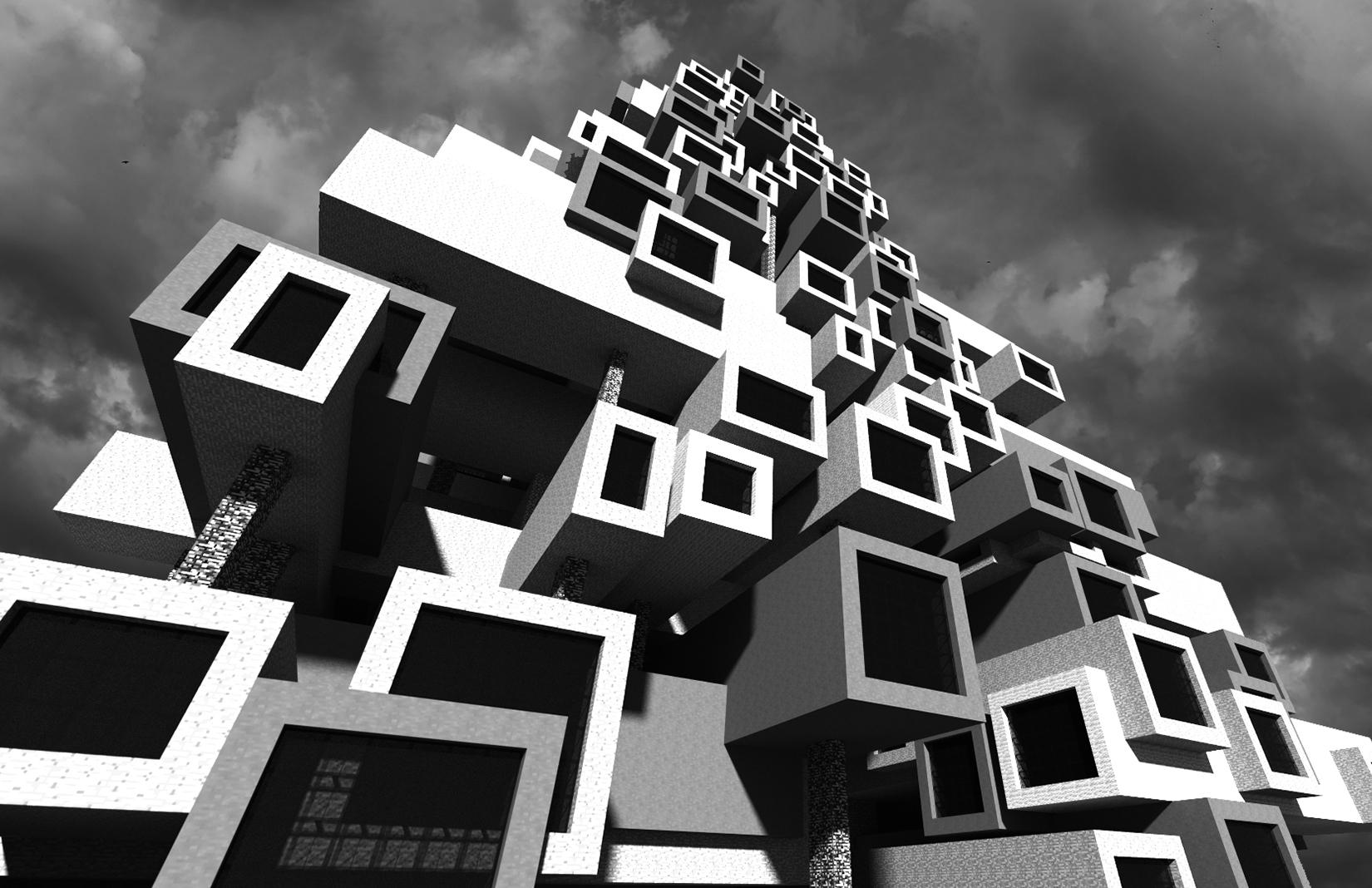 Minecraft Brutalism