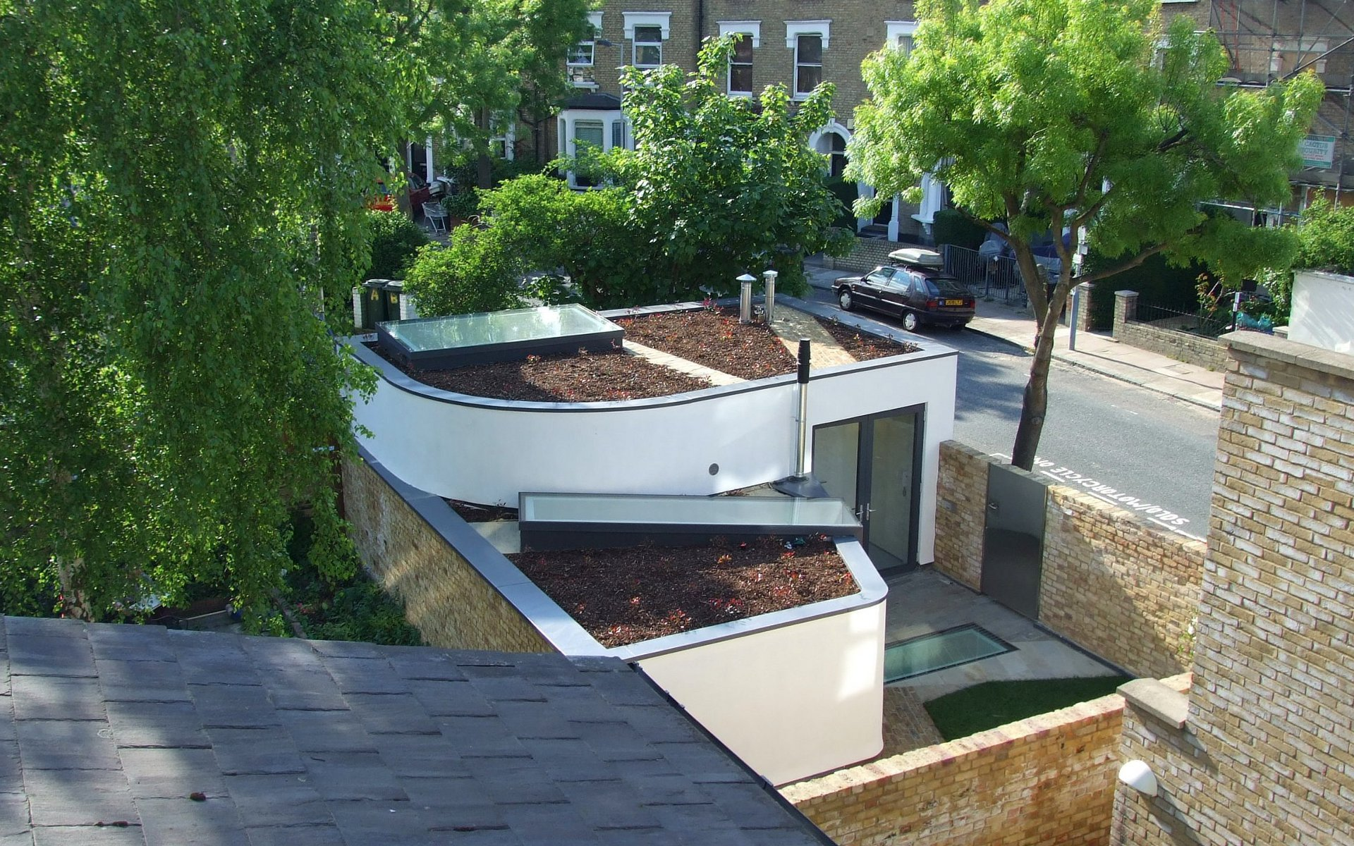 Subterranean House How Emerging Architects Are Transforming Londons Backlands The