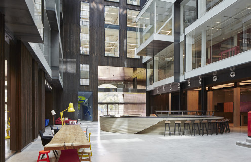 London's first cycle-in office set to open