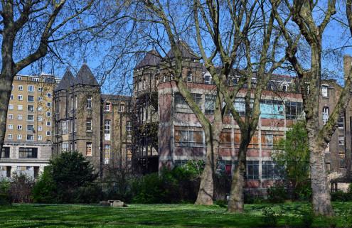 Co-working space to resuscitate derelict Camden hospital