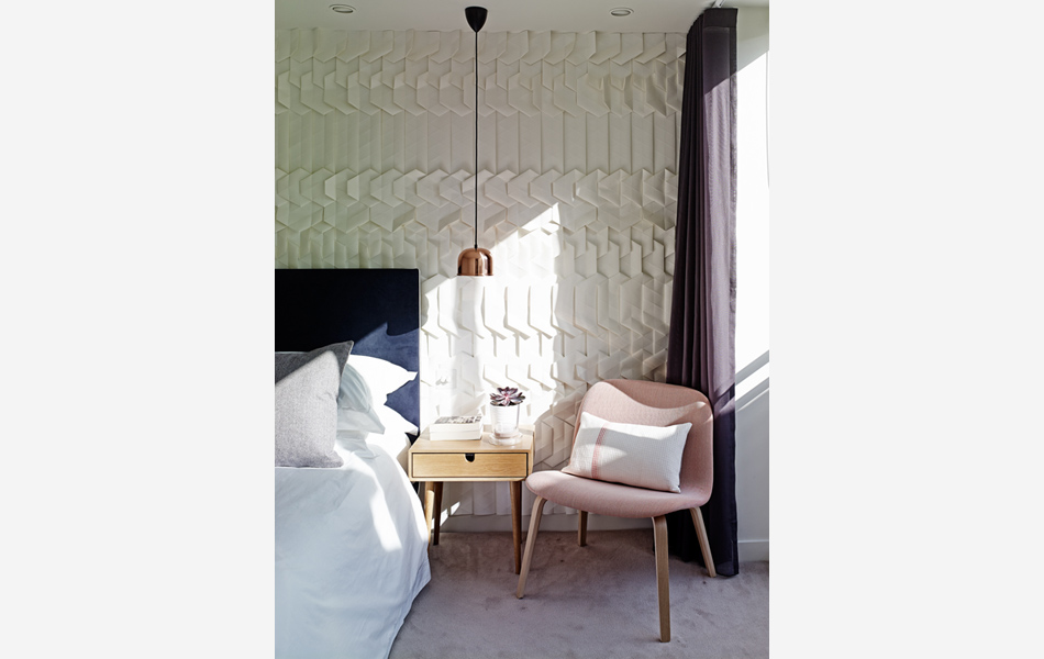 Tactile wallpaper by Tracey Tubb