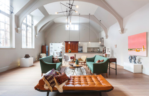 Property of the week: a converted courtroom in London's West Kensington