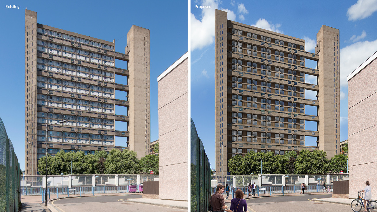 Erno Goldfingers Balfron Tower Will Be Turned Into