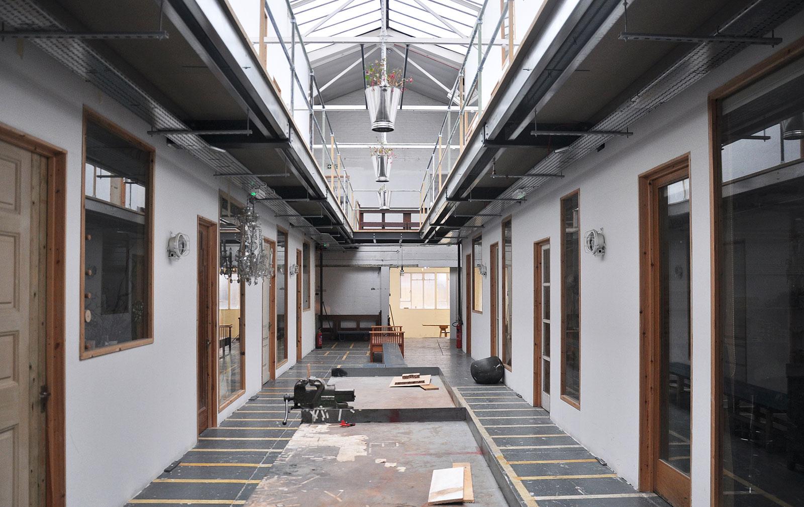 Henry Krokatsis' studio space