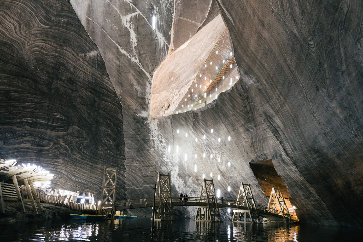 Salina Turda Salt Mine Turda. Photography, Richard John Seymour for The Spaces
