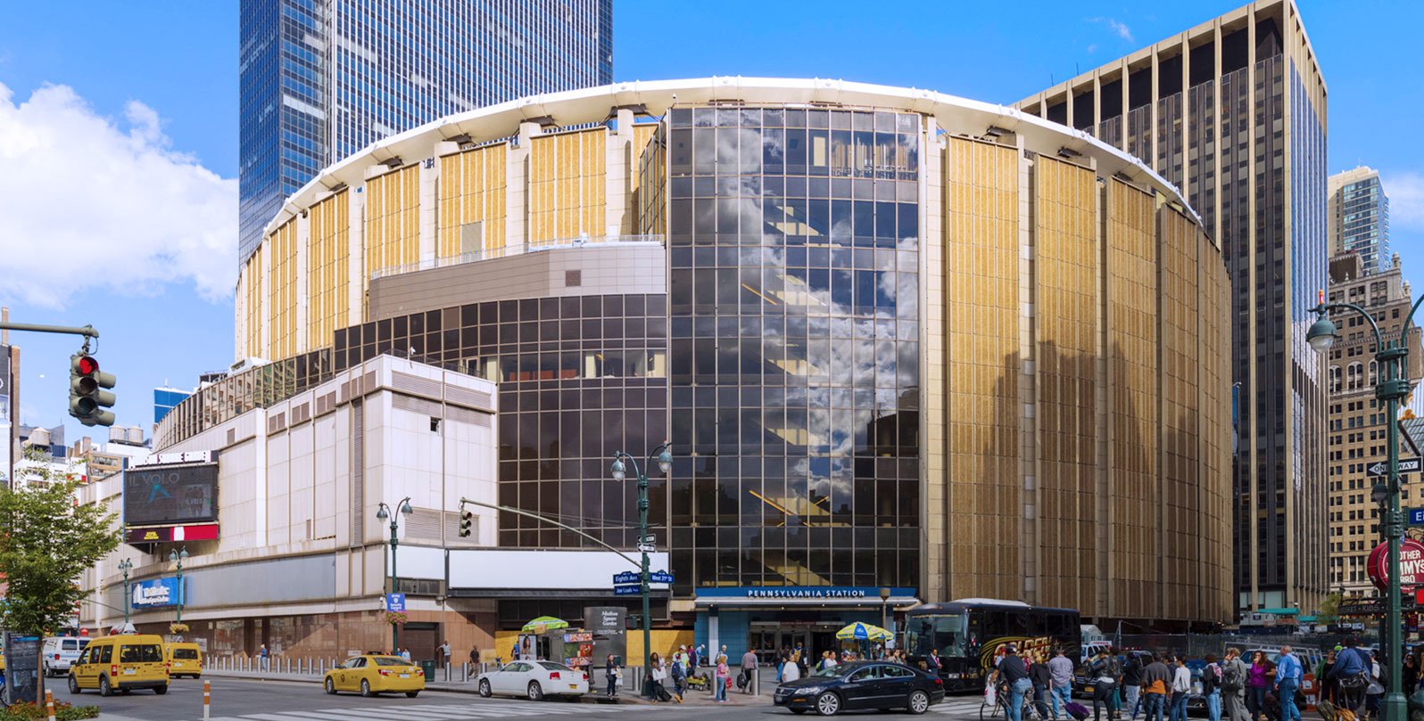New york s miserable penn station is finally getting a revamp the spaces for Address of madison square garden