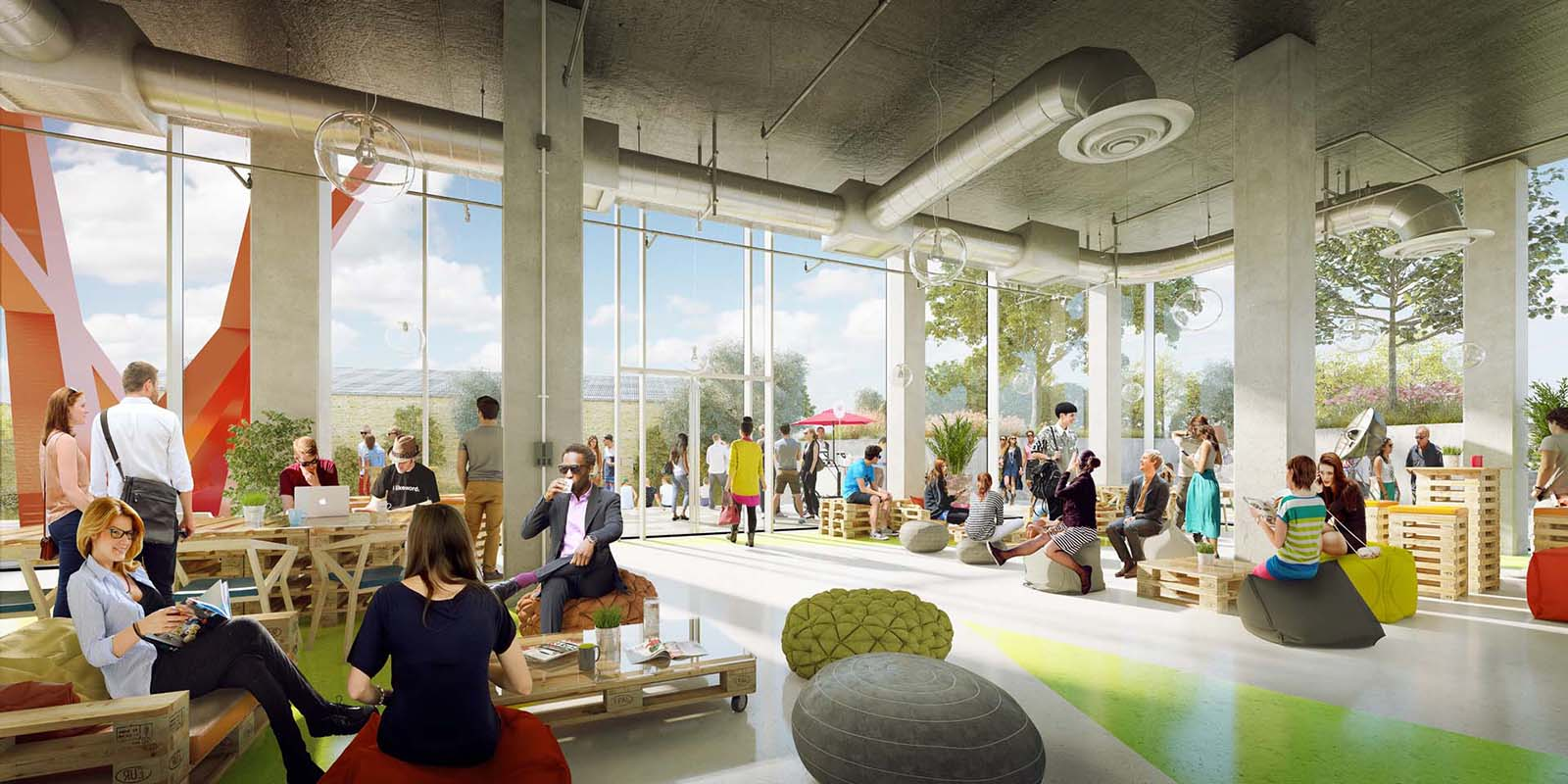 The Living Space : London's Old Oak to welcome world's largest co-living ...