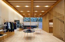 New Maison Kitsuné store in Tokyo's Daikanyama riffs on demolished Hotel Okura