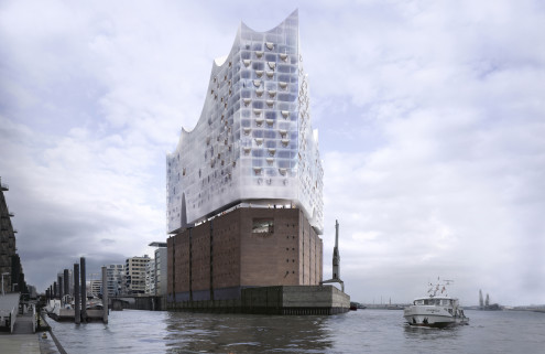 Take a first glimpse of life inside Hamburg's Elbphilharmonie