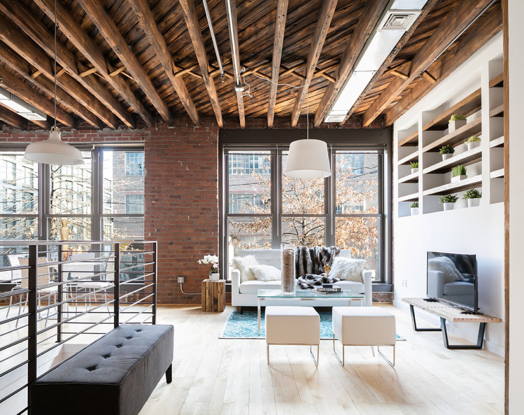 property of the week a new york loft with a sweet history the spaces. Black Bedroom Furniture Sets. Home Design Ideas