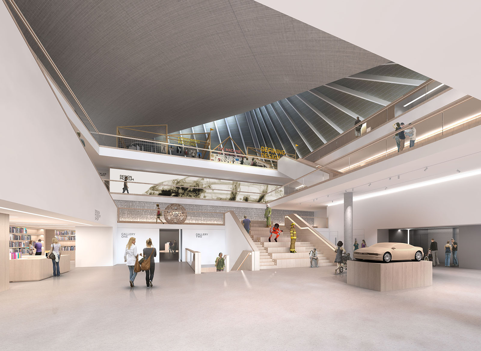 The design museum to open its new kensington home in for Museum designers