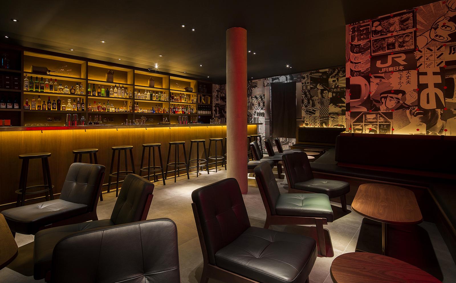 Jason Atherton's Sosharu restaurant designed by Neri & Hu
