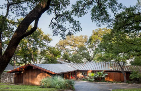 A Japanese-inspired midcentury home in Austin hits the market for $1.29m