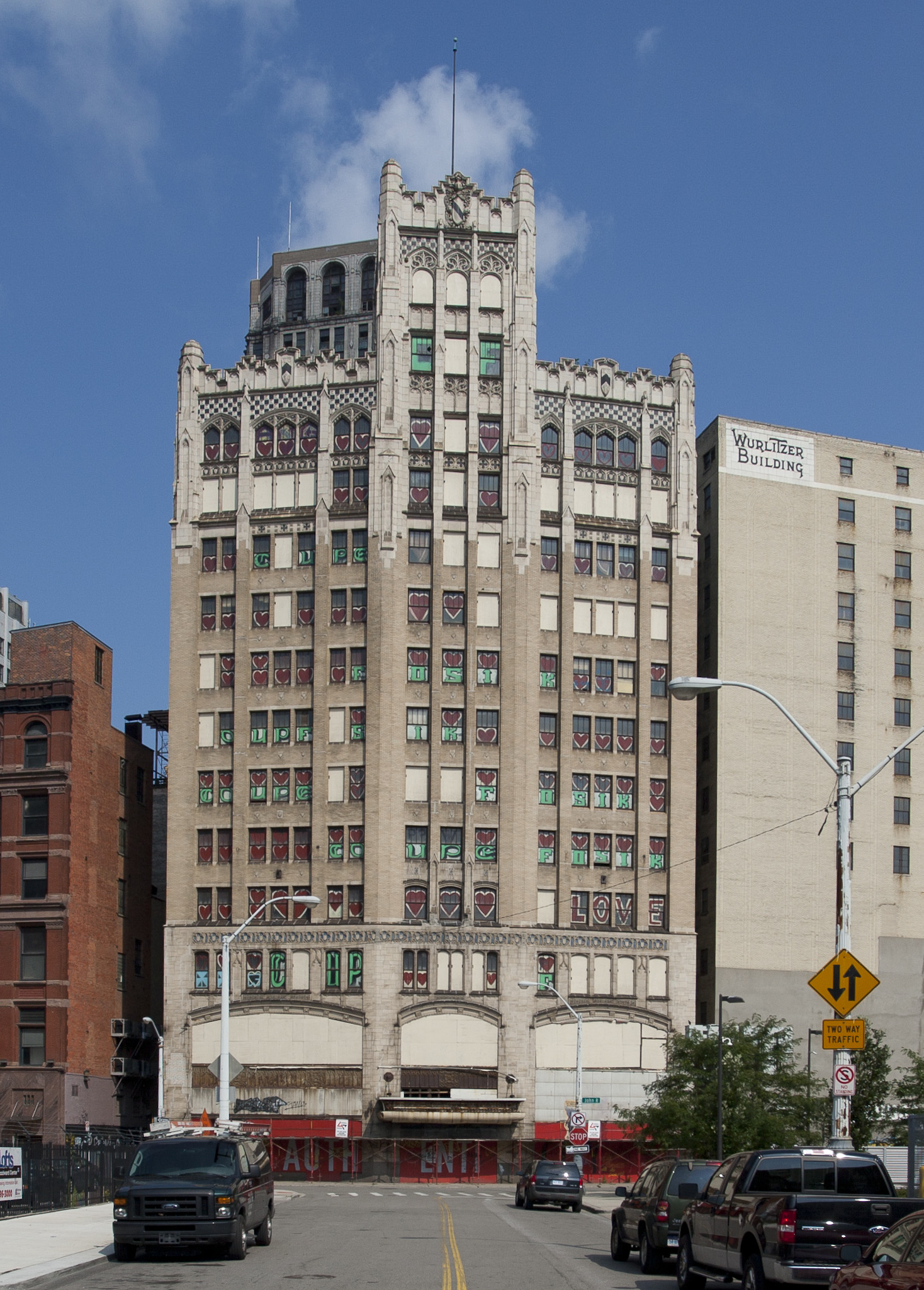 Detroit S Neo Gothic Metropolitan Building Is Becoming A