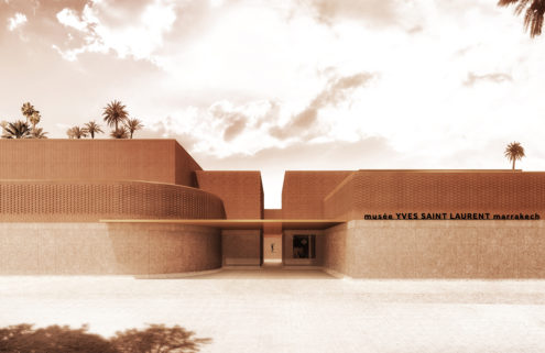 Yves Saint Laurent museum will be built in the designer's adopted city of Marrakech