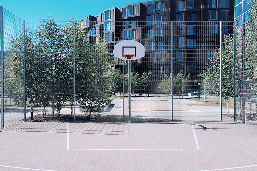 5 Finds From Across The Web Basketball Courts Around The World Drake S Mega Mansion And More The Spaces