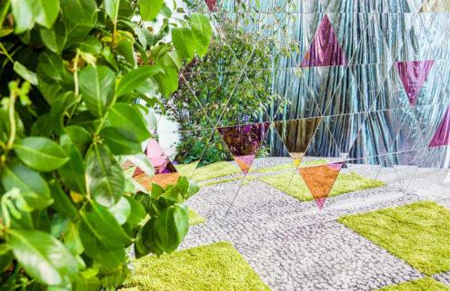 Sensorium 'pleasure garden' opens during London's Clerkenwell Design Week