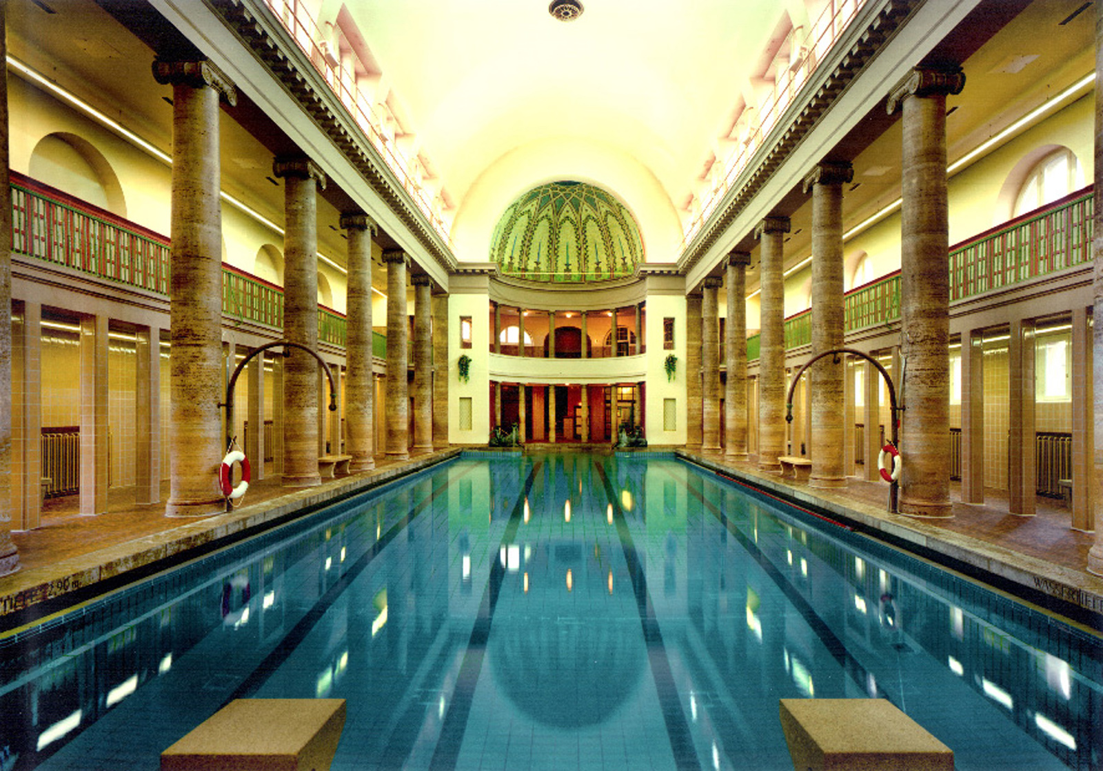 Berlin\'s best swimming pool architecture