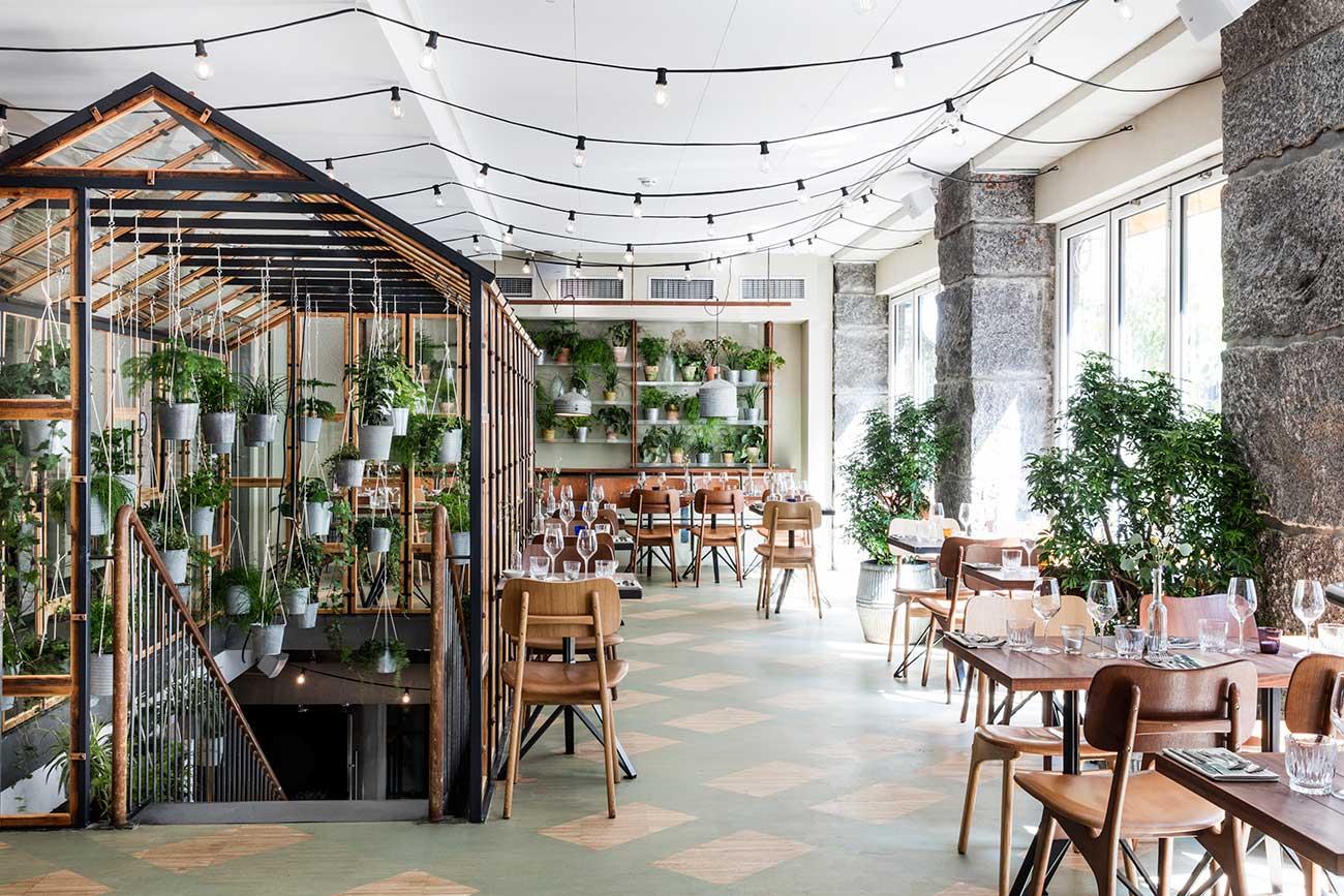 New Restaurant Vakst Is Like A Secret Garden In The Heart Of