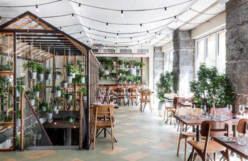 New restaurant Väkst is like a secret garden in the heart of Copenhagen