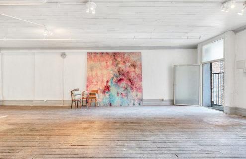 Artist Bill Alpert's loft in New York's Cast Iron District goes on sale