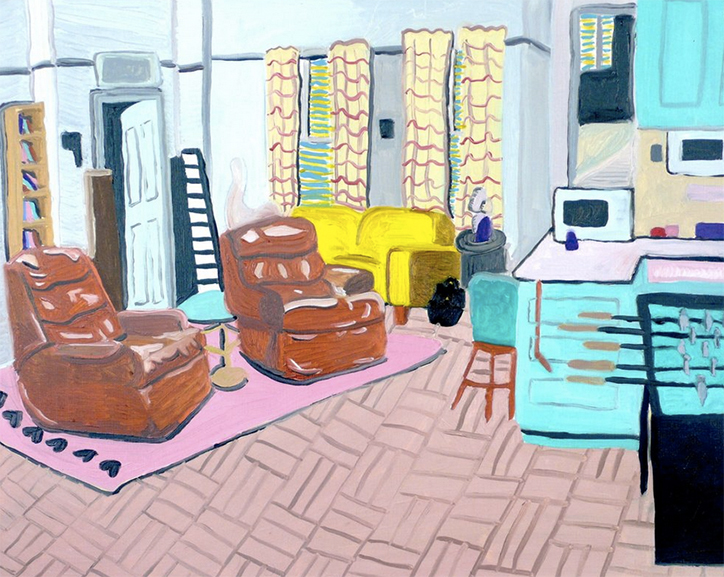 Enjoyable 5 Finds From Across The Web 1990S Sitcom Sitting Rooms Theyellowbook Wood Chair Design Ideas Theyellowbookinfo
