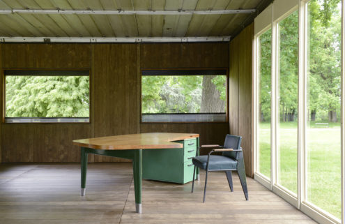 Jean Prouvé's restored Maxéville Design Office will go on show at Design Miami/Basel next week