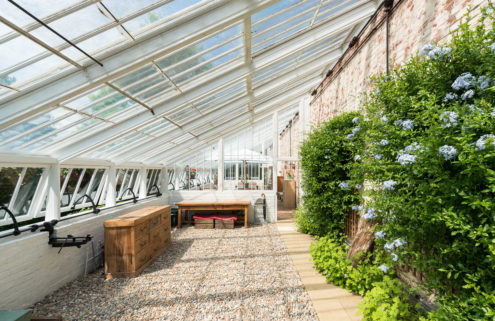 A converted 19th-century greenhouse in Kent goes on sale