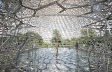Wolfgang Buttress' giant hive installation migrates to London's Kew Gardens