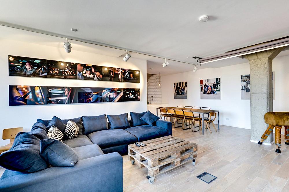 Old Street loft for hire via Vrumi