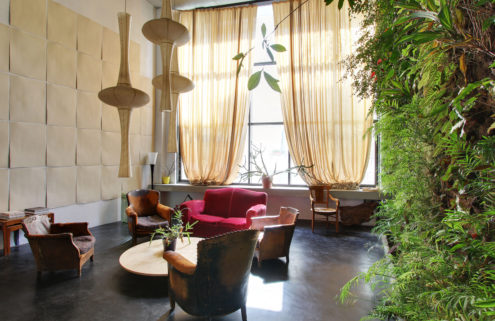 Property of the week: a Parisian home with a living wall by Patrick Blanc