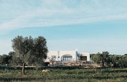 A modern farmhouse retreat opens in Italy's Puglia