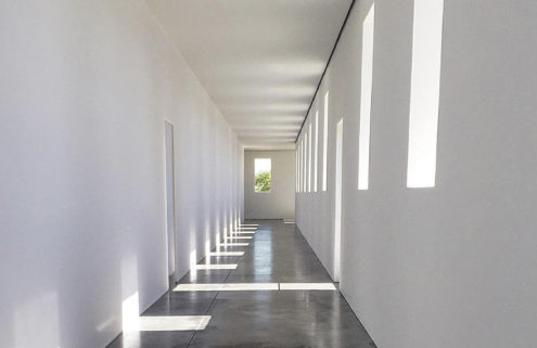 Robert Irwin's new Texas artwork echoes a demolished hospital