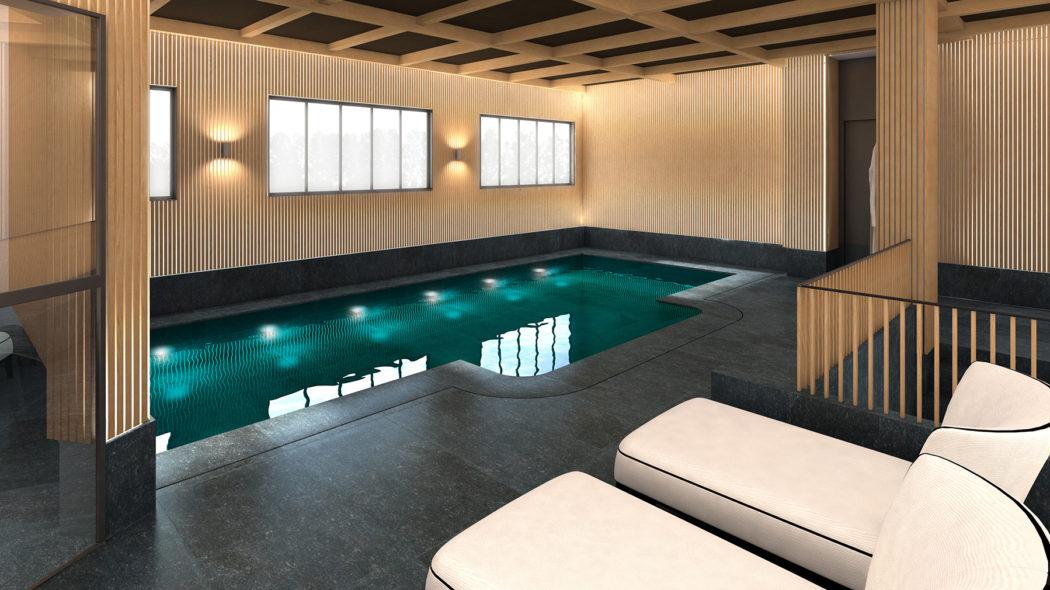 designer sarah lavoine kits out new paris hotel le roch. Black Bedroom Furniture Sets. Home Design Ideas