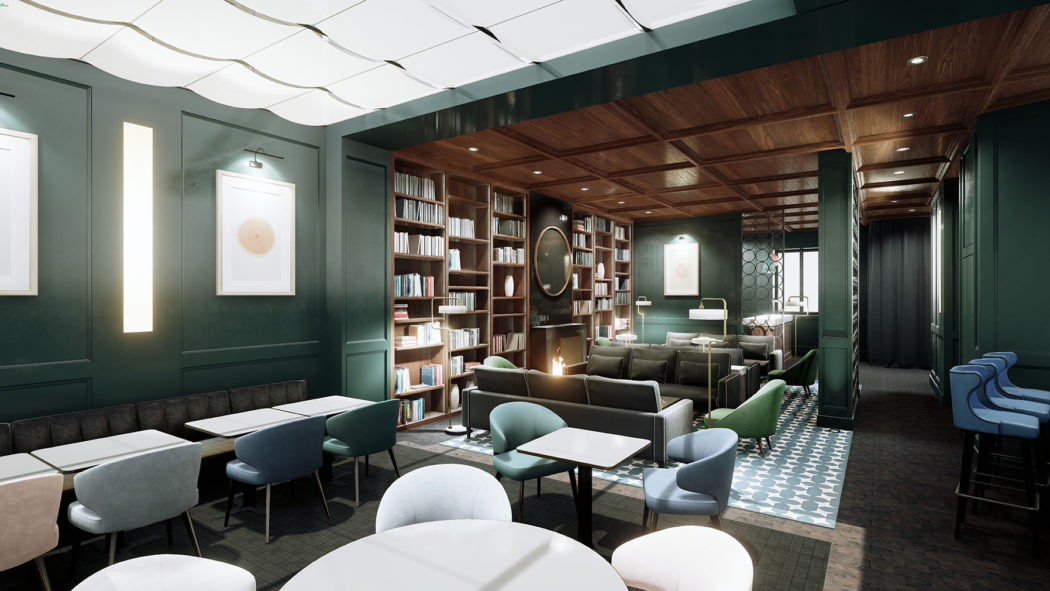 Designer sarah lavoine kits out new paris hotel le roch for Salon design paris