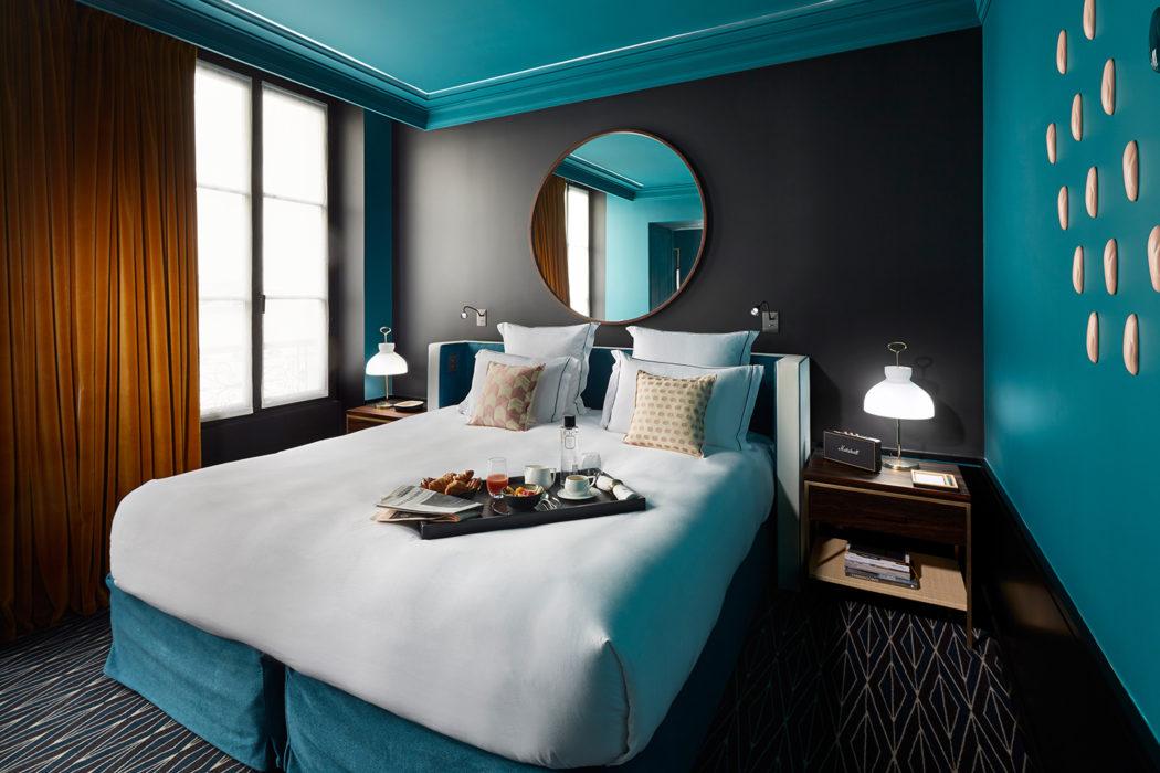 Designer sarah lavoine kits out new paris hotel le roch for New design hotels 2016