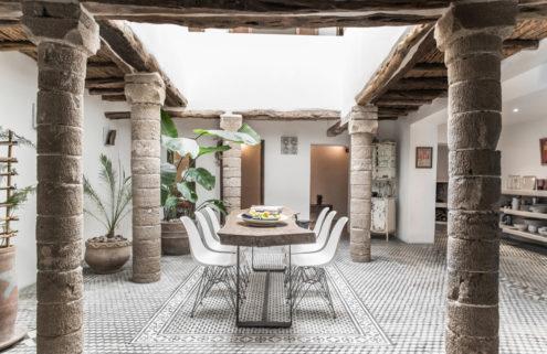 Rental of the week: a pared-back riad in Essaouira