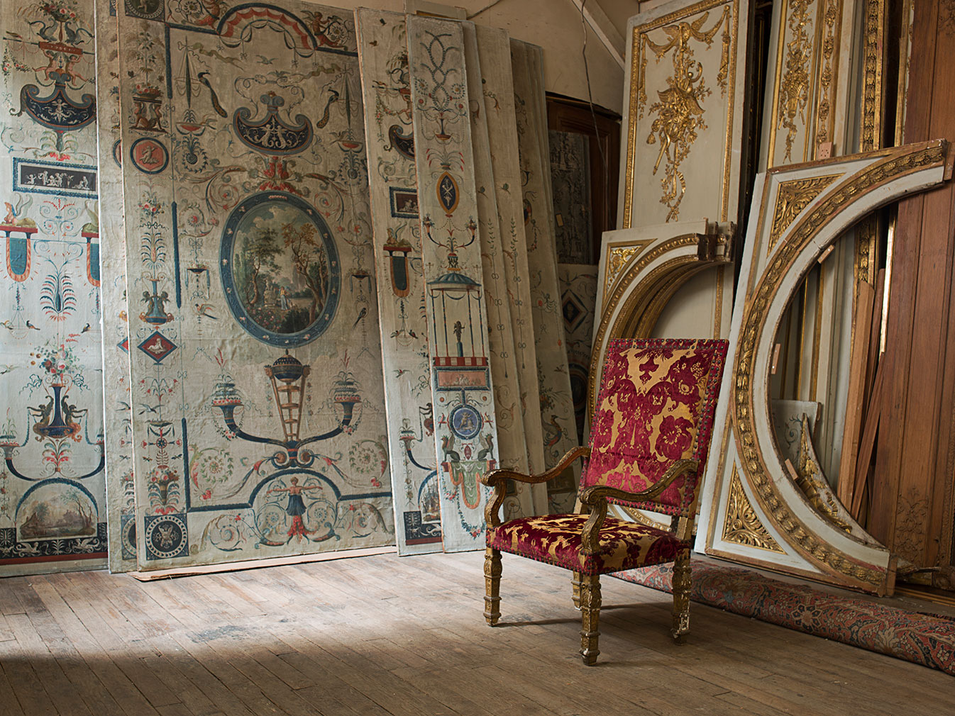 inside paris' secret archive of architectural antiques