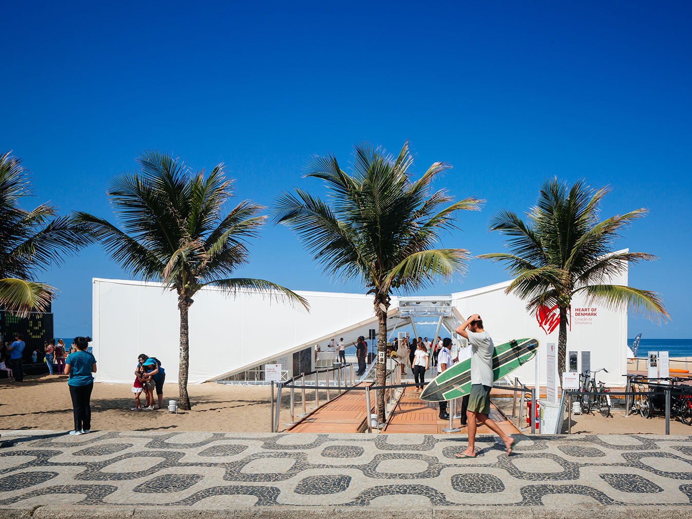 Denmark Pavilion at the Rio Olympic Games
