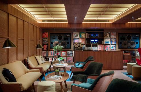 Music Room vinyl library opens in Sou Fujimoto-designed Potato Head Hong Kong