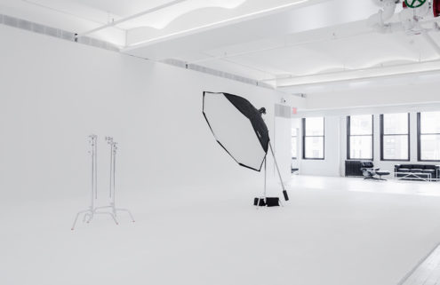 VSCO's new Manhattan office includes an open studio for photographers