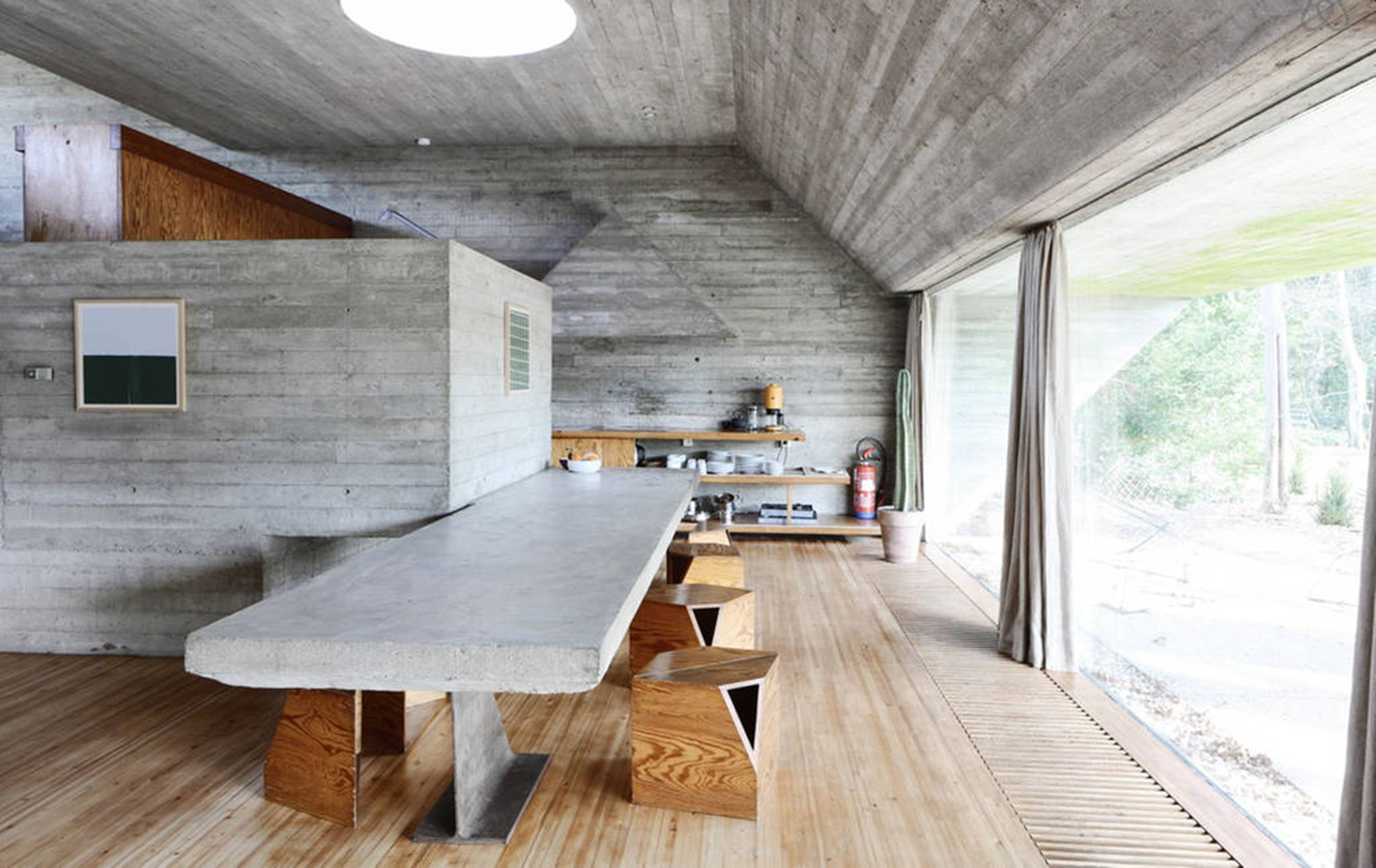 Home Temple Design Interior 7 Brutalist Holiday Homes You Can Rent