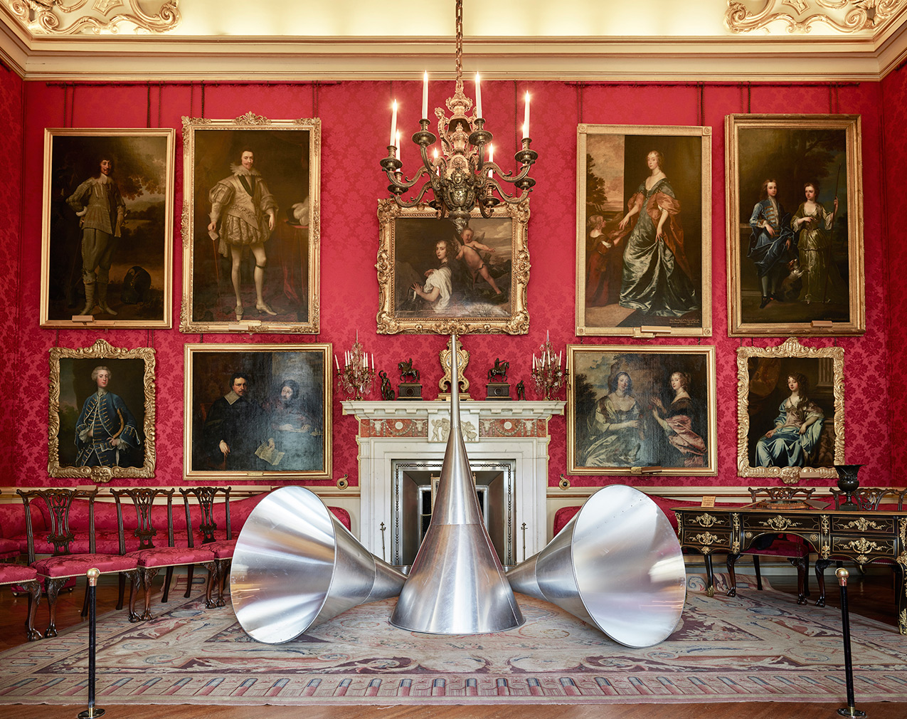 'The Trumpets of judgement' (1968-1986) by Michelangelo Pistoletto. Photography: Tom Lindboe / courtesy:Blenheim Art Foundation