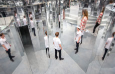 Set designer Es Devlin builds a mirror maze to evoke memory in London's Peckham