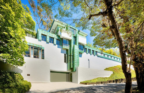 Frank Lloyd Wright Jr's Samuel Novarro House lists for $4.2m
