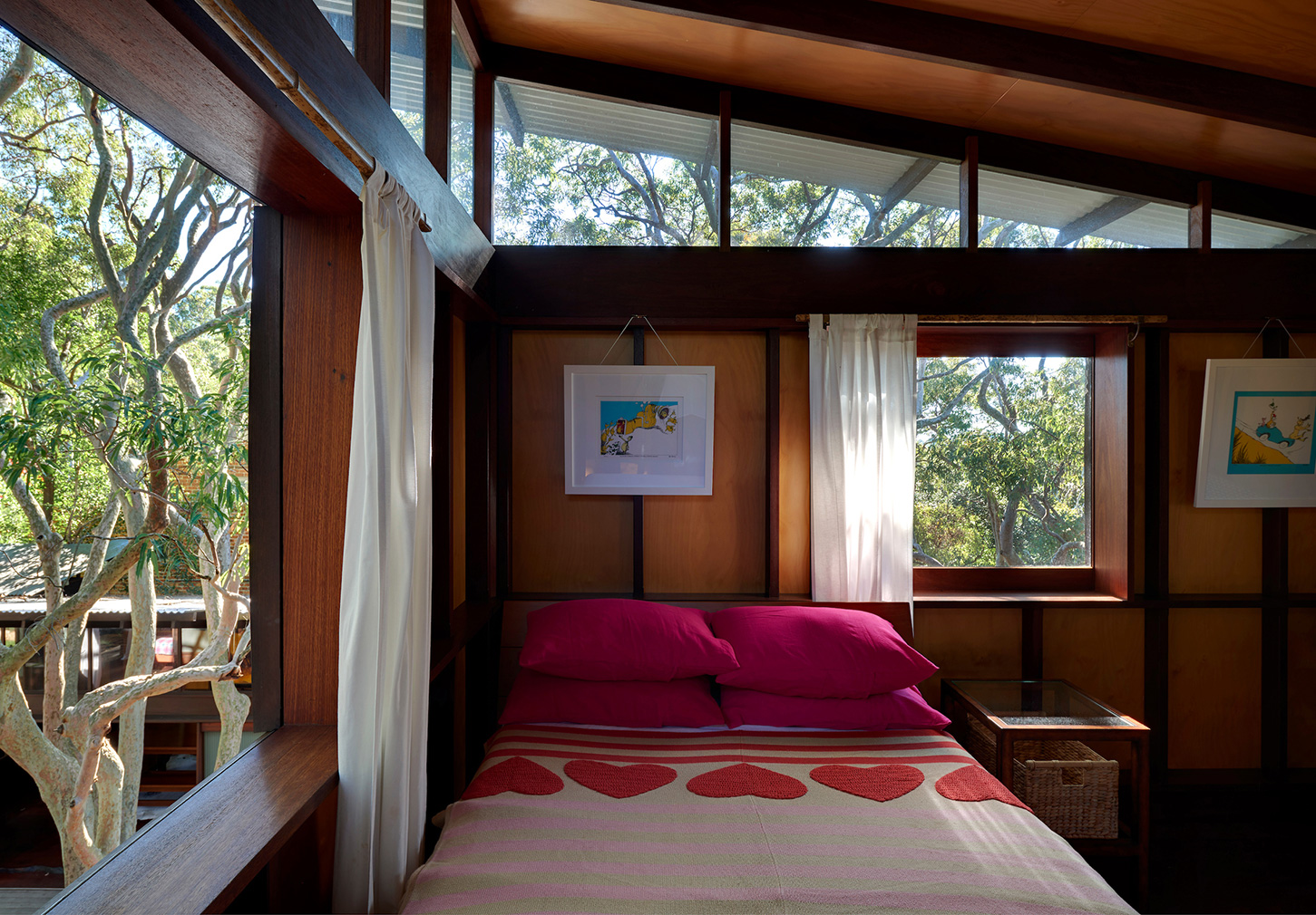 Angophora House by Richard Leplastrier